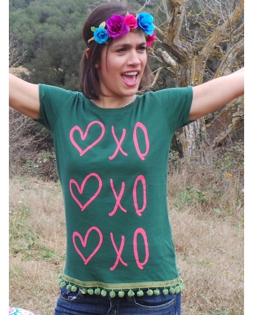 CAMISETA GREEN LOVE